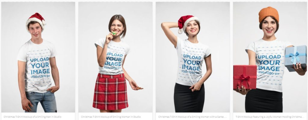PlaceIt Mockup generator works great for t-shirts for POD websites and Etsy shops